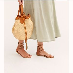 Free people tan barachel sandal SOLD OUT